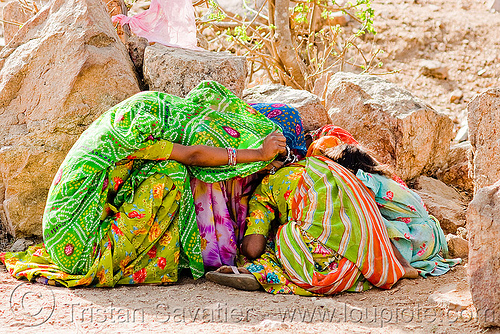 camera-shy girls, camera-shy, girls, hiding, udaipur, women