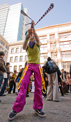 candy kid spinning poi - how weird street faire (san francisco), kandi kid, kandi raver, poi, raver outfits, woman