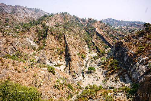 canyon - desert - kashmir, canyon, india, jammu, kashmir