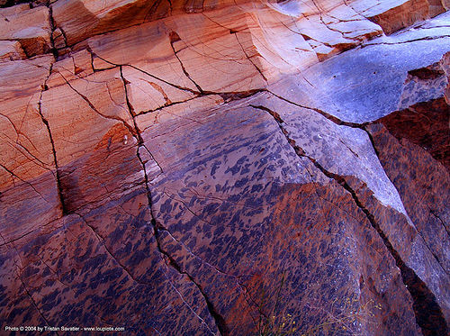 canyon wall - orange marble rock, cracks, death valley, eroded, fall canyon, marble rock