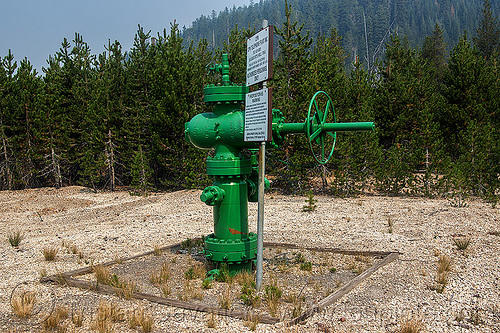 capped geothermal exploratory well, abandoned, capped geothermal well, energy, exploration, green, green energy, industrial, pipe, power, shasta-trinity national forest, volcanic