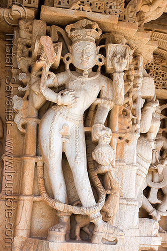 carving in temple - kumbhalgarh, near udaipur (india), hindu temple, hinduism, kumbalgarh, kumbhalgarh, statue, udaipur, कुंभलगढ़