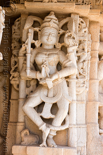carving in temple - kumbhalgarh, near udaipur (india), hindu temple, hinduism, india, kumbalgarh, kumbhalgarh, statue, udaipur, कुंभलगढ़