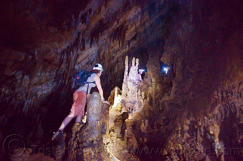 cave formations - clearwater cave - mulu (borneo), cave formations, cavers, caving, clearwater cave system, clearwater connection, concretions, gunung mulu national park, natural cave, speleothems, spelunkers, spelunking