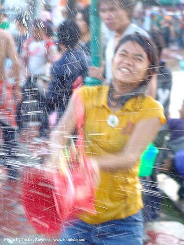 เชียงใหม่ - chiang mai - สงกรานต์ - songkran festival (thai new year) - thailand, chiang mai, girl, soaked, songkran, thai new year, water festival, wet, ประเทศไทย, สงกรานต์, เชียงใหม่