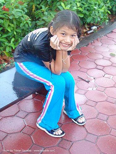 เชียงใหม่ - chiang mai - สงกรานต์ - songkran festival (thai new year) - thailand, chiang mai, child, kid, little girl, soaked, songkran, thai new year, water festival, wet, ประเทศไทย, สงกรานต์, เชียงใหม่