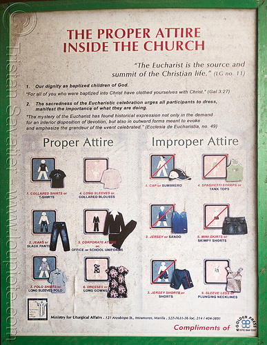 church dress code (philippines), church, dresscode, philippines, religion, sign, tuguegarao