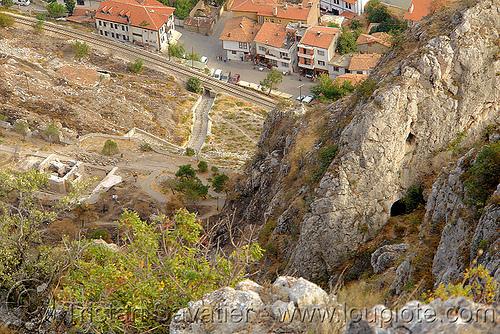cilanbolu tunnel mouth (amasya), amaseia, amasya, archaeology, cave, cilanbolu cistern, mağara, mağarası'nda, mountain, tunnel, tüneli, water cistern, water well, wells