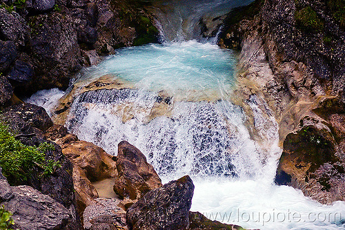 mountain creek, austria, austrian alps, creek, falls, flowing, mountains, river, saalfelden, water, waterfall