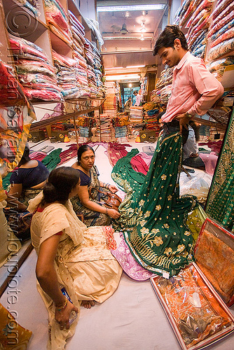 cloth shop - delhi (india), cloth, delhi, night, people, shop