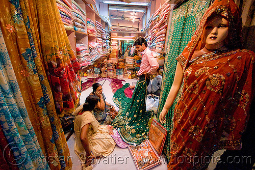 cloth shop - store dummy - delhi (india), cloth, delhi, mannequin, night, shop, store dummy