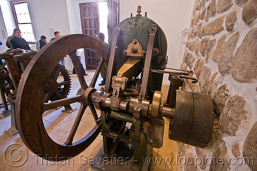 coining machine - minting, casa de la moneda, casa nacional de moneda, machine tool, mint, minting, potosí, steam powered