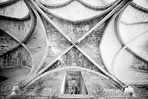 collège des bernardins - gothic architecture - stone vaults - monastery (paris), architecture, cistercian, collège des bernardins, gothic, medieval, monastery, paris, stone vaults