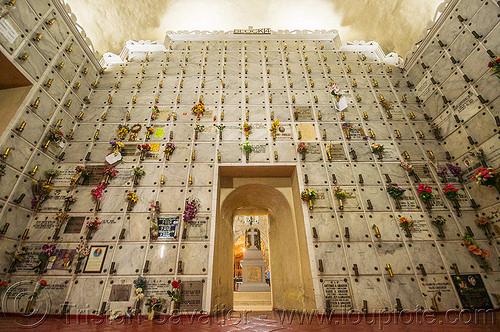 columbarium - san augustin church - manila (philippines), cemetery, columbarium, graves, manila, philippines, religion, san augustin church, tombs