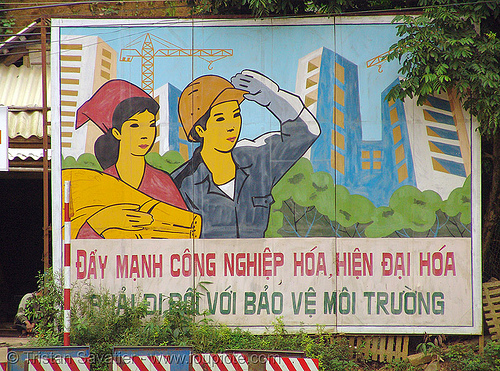 communist sign - vietnam, communist sign, propaganda