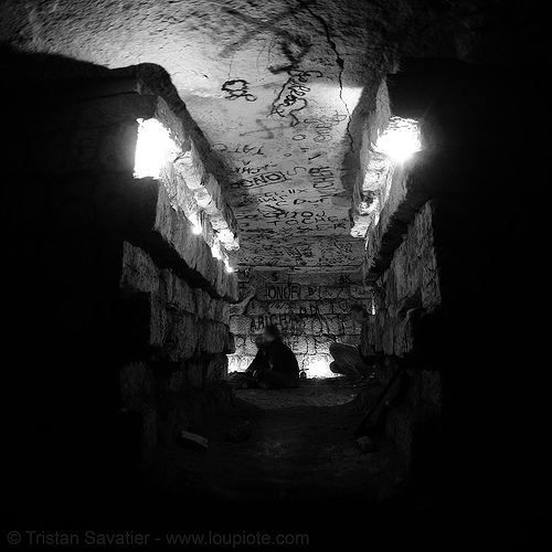 consolidations under the val-de-grâce hospital - catacombes de paris - catacombs of paris (off-limit area), catacombs of paris, cave, consolidations, gallery, graffiti, hôpital du val-de-grâce, labyrinth du val-de-grâce, trespassing, tunnel, underground quarry, val-de-grace