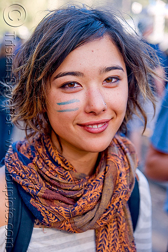 crystal - young asian woman portrait, bluegrass, crystal, golden gate park, hardly, strictly, woman