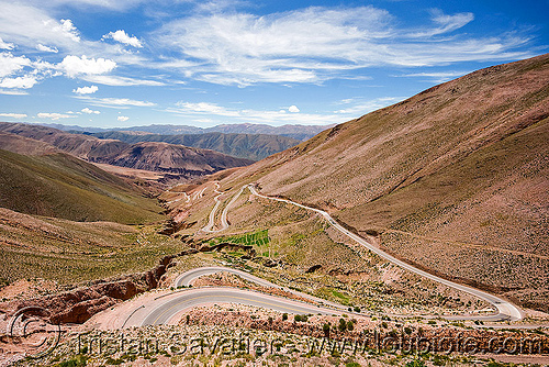 cuesta de lipán - road to salinas grandes - humahuaca (argentina), cuesta de lipán, curves, mountains, noroeste argentino, pampa, quebrada de humahuaca, switchbacks, turns, winding road
