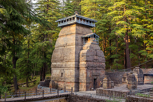 dandeshwar temple near jageshwar (india), hinduism