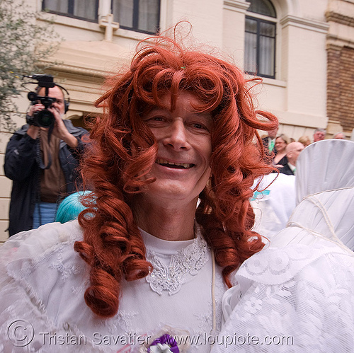danger ranger aka michele michele - brides of march (san francisco), drag, festival, m2, man, michael michael, michael mikel, people, transvestite, wedding, white