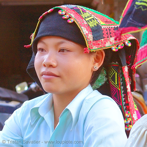dao tribe girl - vietnam, dao tribe, dzao tribe, hill tribes, indigenous, people, yao tribe, zao tribe