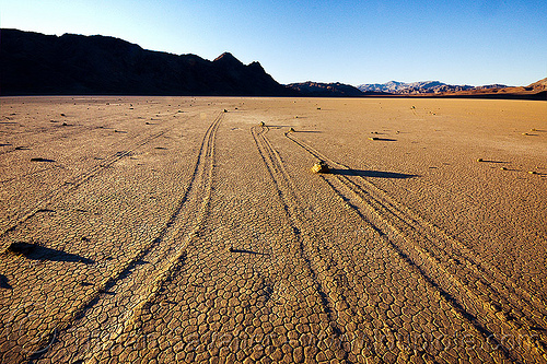 death valley racetrack, cracked mud, death valley, dry lake, dry mud, mountains, racetrack playa, sailing stones, sliding rocks