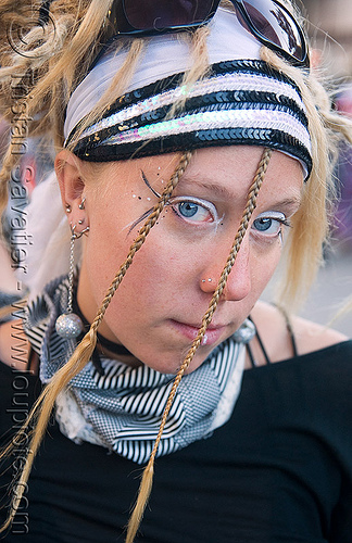 decompression 2008 (san francisco) - burning man, burning man decompression, woman