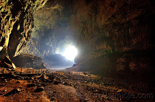 deer cave, backlight, caving, gunung mulu, gunung mulu national park, natural cave, spelunking