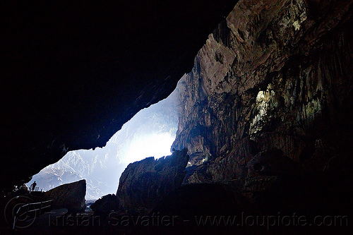 deer cave - mulu (borneo), backlight, caving, gunung mulu, gunung mulu national park, natural cave, people, spelunking