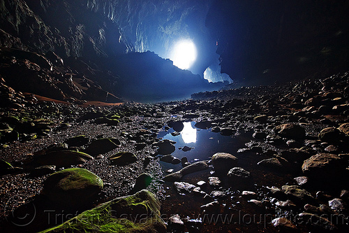 deer cave - mulu (borneo), backlight, borneo, caving, deer cave, gunung mulu national park, malaysia, natural cave, pebbles, spelunking