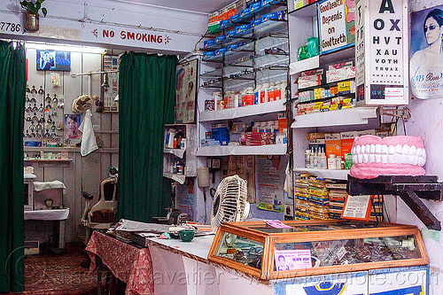 dentist shop (india), almora, cabinet, store
