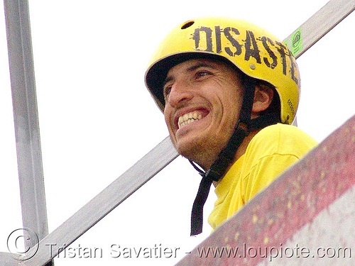 disaster-man - yellow helmet (bulgaria), skateboarding helmet