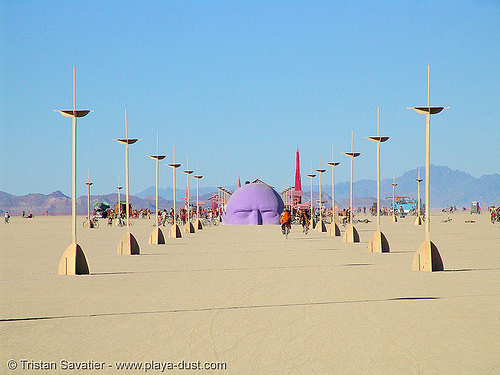 dreamer by pepe ozan - burning-man 2005, art, burning man, dreamer, pepe ozan
