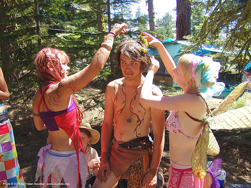 elf - rainbow gathering - hippie, elf costume, hippie, rainbow family, rainbow gathering