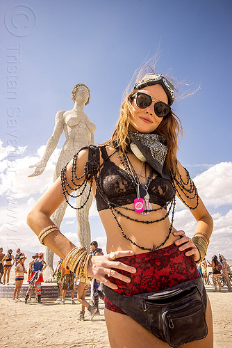 eva - burning man 2015, art installation, r-evolution, sculpture, statue, woman