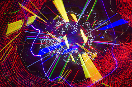 explosion of colors, abstract, club, color lights, disco lights, led lights, new years eve, night, nye, opel, opulent temple, strobes
