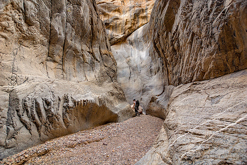 fall canyon - death valley national park (california), death valley, fall canyon, hiking, marble rock, narrows