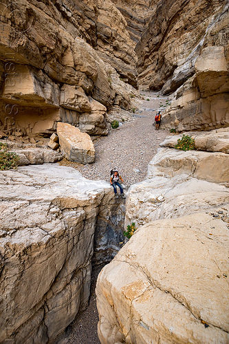 fall canyon - top of the dry waterfall - death valley national park (california), death valley, fall canyon, hiking