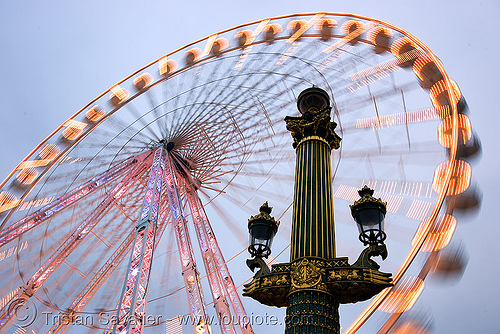 ferris wheel (grande roue) - place de la concorde (paris), ferris wheel, grande roue, moving, paris, place de la concorde, tuilleries