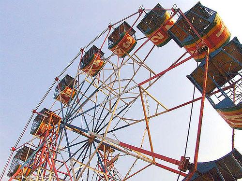 ferris wheel - thailand, ferris wheel, festival, river fair, songkran, tha ton, ประเทศไทย, สงกรานต์