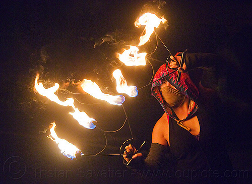 "fire dancer ""mel"" with fire fans, fire dancer, fire dancing, fire performer, flames, mel, night, woman"