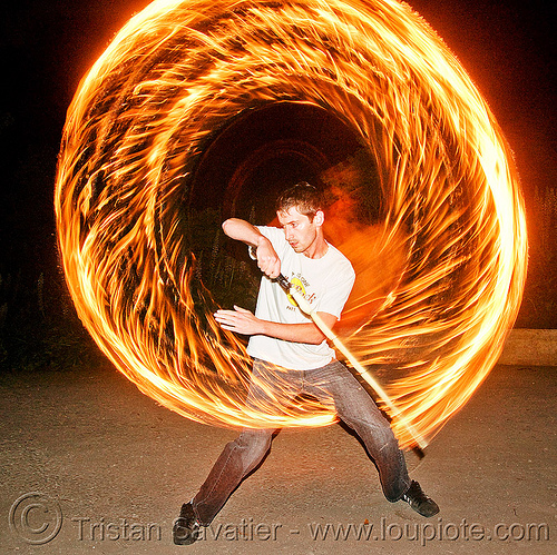 fire performer spinning fire sword, fire circle, fire dancer, fire dancing, fire performer, fire ring, fire spinning, fire sword, night, spinning fire
