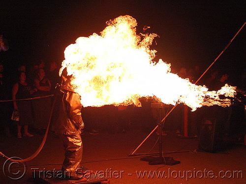 fire proximity suit, fire art, fire arts festival, fire proximity suit, fire resistant, flame resistant clothing, flame-resistant suit, flames, fr, silver bunker suit, the crucible