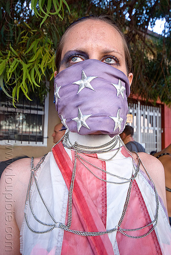 freedom of speech, american flag, chains, first amendment, freedom of speech, gagged, stars, stripes, us flag, woman