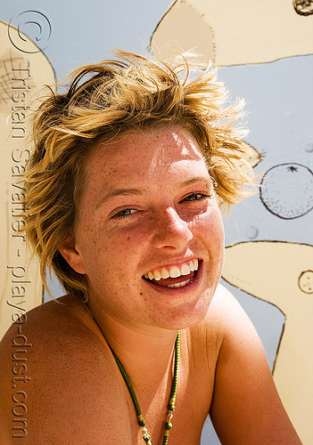 gabrielle - burning man 2008, burning man, center camp, gabrielle, woman