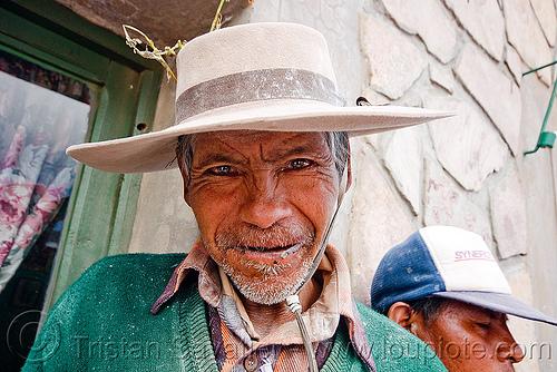 gaucho, abra pampa, gaucho, hat, noroeste argentino, old man, quebrada de humahuaca