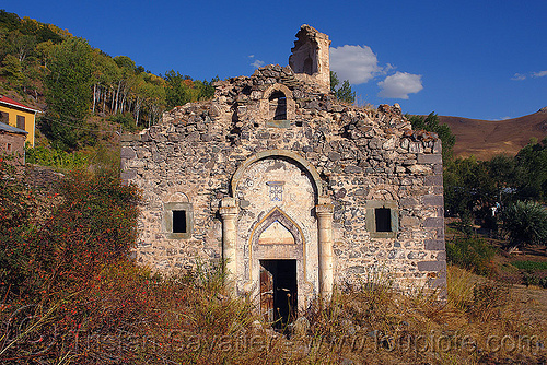 georgian church ruin (turkey), byzantine, georgian church ruins, orthodox christian