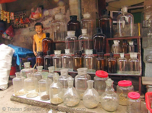 glass jars shop (hanoi), boy, child, glass jars, hanoi, kid, shop, store, street market, street seller, vietnam
