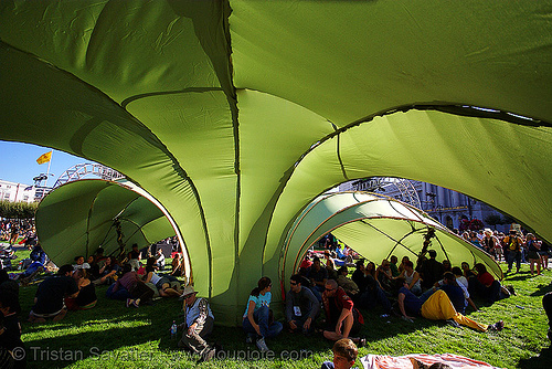 green shade - san francisco lovefest 2007