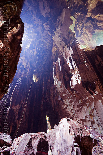madai cave (borneo), bird's nest, caving, gua madai, ida'an, idahan, long exposure, madai caves, natural cave, people, ropes, spelunking